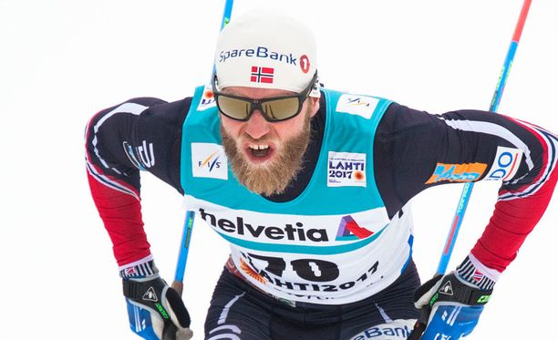 Martin Johnsrud Sundby sanoo olevansa tyytyväinen omaan suoritukseensa.