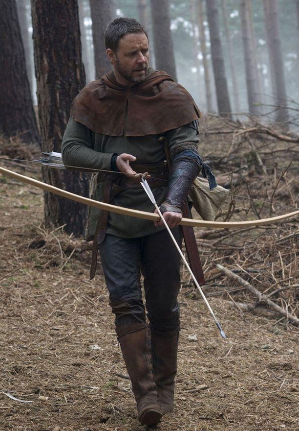 Russel Crowe tähditti Robin Hood -elokuvaa vuonna 2010.