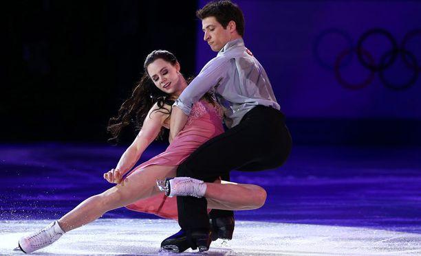 jäätanssin olympiavoittajat Kanadan Tessa Virtue ja Scott Moir ovat käyneet valloittamassa suomalaisyleisön sydämet.