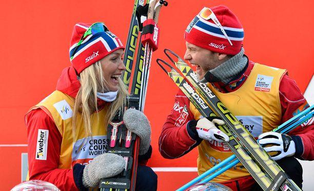 Therese Johaug ja Martin Johnsrud Sundby ovat olleet viime kuukausina esillä enemmän kuin muut norjalaishiihtäjät.
