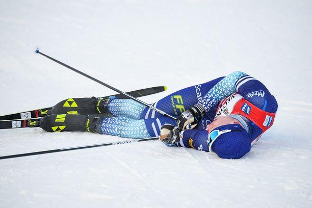 Iivo Niskanen menestyy nykyisin myös vapaan hiihdossa.