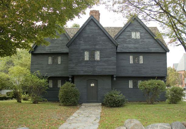 Salemin noitatalo, kaupungin ainoa 1690-luvulla pystyssä ollut rakennus.
