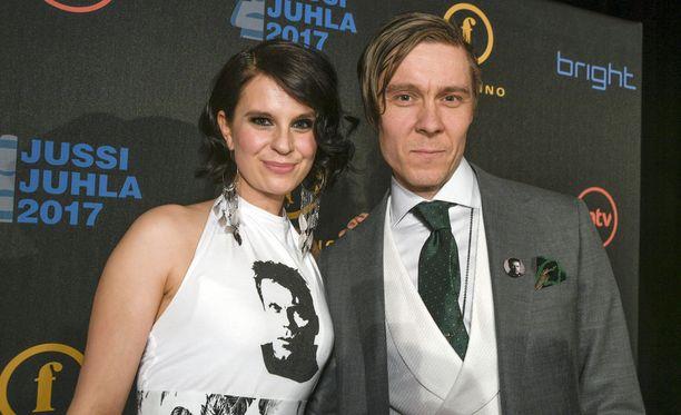 Tuukka ja Olga Temonen ovat olleet yhdessä jo lähes viisitoista vuotta.
