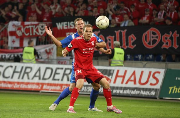 Timo Furuholm pelasi pitkään Saksassa.