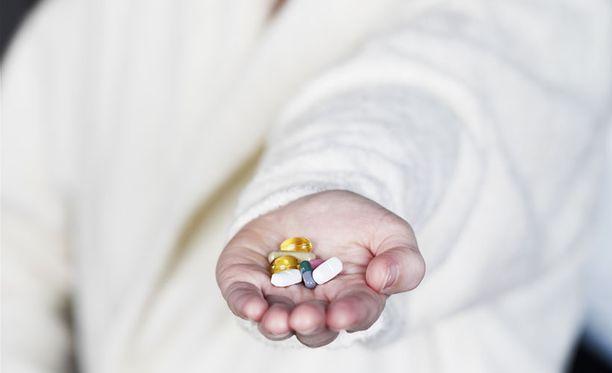 Trisykliset masennuslääkkeet liitettiin sydäntautien riskiin.