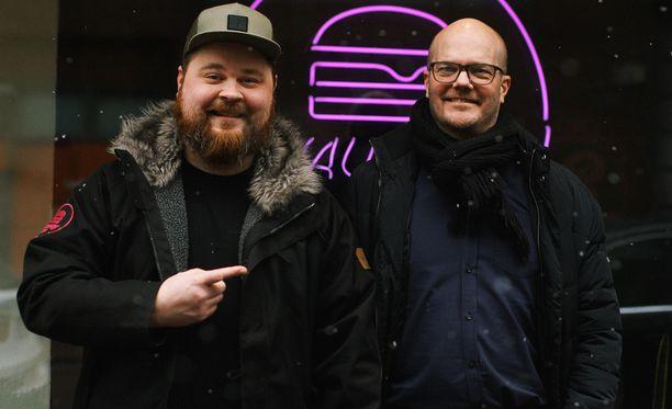 Akseli Herlevin tavoitteena on yhdessä Mikko Mollbergin kanssa tehdä Naughty BRGRista kansainvälinen ketju.