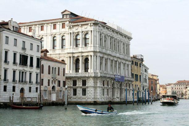 Johnny Deppin ostama palatsi sijaitsee kuuluisan Grand Canalen varrella Venetsiassa.