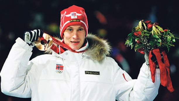 Lars Bystöl oli kultamitalikamaa vielä Torinossa 2006.