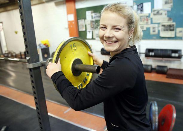 Fanny Lammisen hieno vuosi täydentyi kovalla menestyksellä EM-kilpailuissa. Arkistokuva.