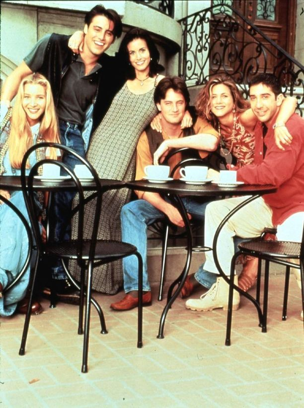 Frendit on televisiohistorian suurimpia menestyssarjoja.