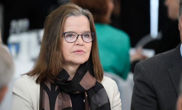 Sisäministeriön kansliapäällikkö Päivi Nerg haki myös alivaltiosihteerin paikkaa.