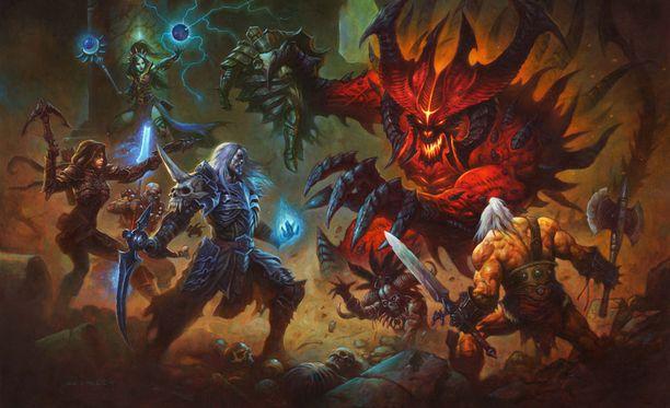 Diablo 3:n Switch-versio saadaan vielä tämän vuoden puolella.