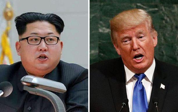Pohjois-Korean johtaja Kim Jong-un ja Yhdysvaltojen presidentti Donald Trump ovat viimeaikoina käyneet kiivasta sanasotaa. Ulkoministeri Rex Tillerson kannattaa rauhanomaista linjaa.