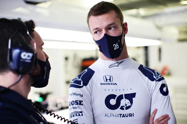 Daniil Kvjat ajoi Bahrainin GP:ssä sijalle 11.