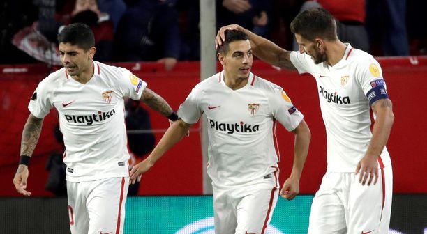 Vetovihjeessä uskotaan, että Sevillan pelissä juhlitaan maaleilla.