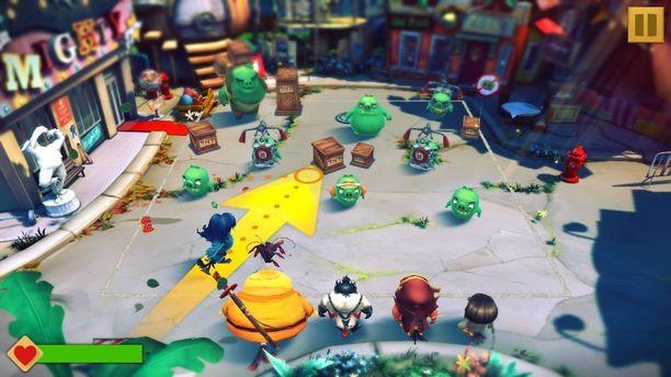 Uusi Angry Birds on vuoropohjainen roolipeli, jossa pelaaja voi itse valita, mitä hahmoja haluaa kehittää.