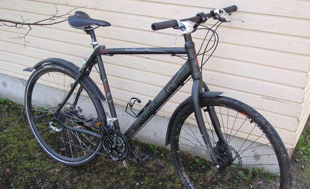 Jyväskylässä on tehtailtu pyörävarkauksia. Kuvituskuva.