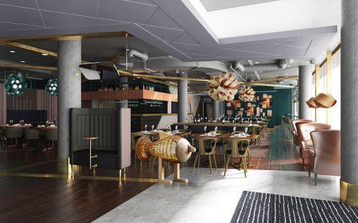 Uusi ravintola avataan marraskuun alussa.