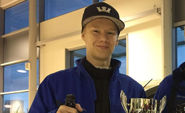 Kalle Rovanperä ajoi voittooon Kouvolassa.