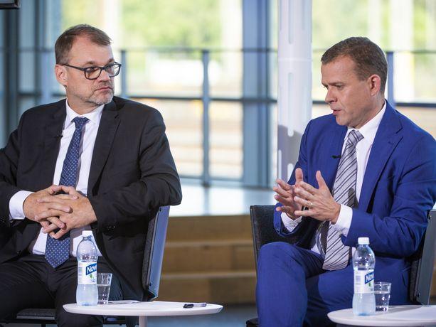 Silloiset hallituskumppanit Juha Sipilä (kesk) ja Petteri Orpo (kok) ymmärsivät toisiaan viime syksyn Alma-tentissä. Miten on ns. ääni kellossa maanantaina?