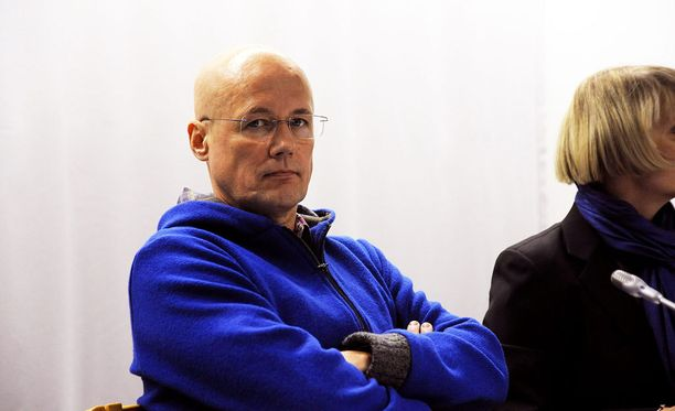 Valelääkäri Esa Laiho vangitsemisoikeudenkäynnissä Helsingissä vuonna 2011.