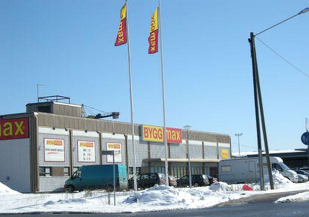 Suomen ensimmäinen BYGGmax sijaitsee Turun Itäharjulla, entisessä Starkin kiinteistössä.