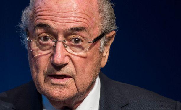 Sepp Blatterin tytär helpottui isänsä päätöksestä.