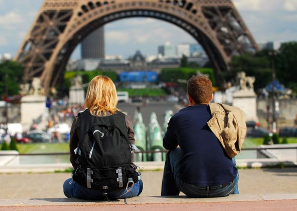 Kevät on hyvää aikaa kaupunkilomalle Pariisissa, sillä turistimassat ovat silloin huomattavasti pienempiä kuin kesällä.