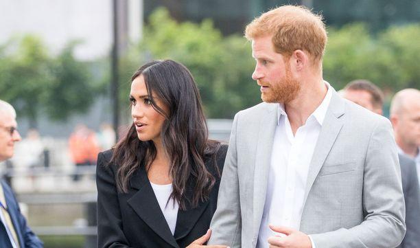 Meghan ja Harry toivovat yksityisyyttä.