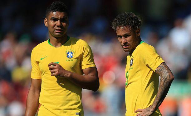 Ovatko Casemiro ja Neymar pian joukkuekavereita myös seuratasolla?