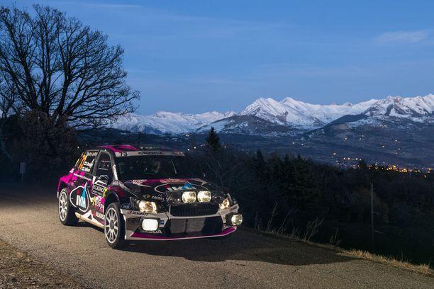 Rovanperä ja Janne Halttunen testasivat Monten legendaarisia teitä ennen torstain starttia.