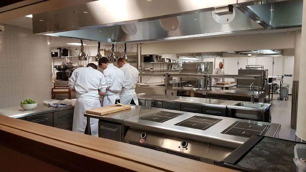 Eero Vottosen alaisuudessa Palacen keittiö pysyy hyvässä järjestyksessä.