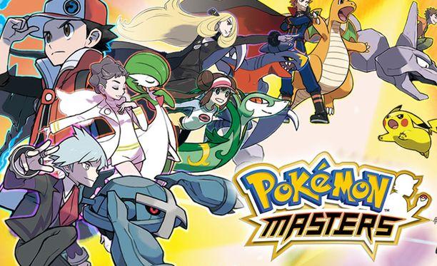 Pokemon Masters nojaa taisteluihin.