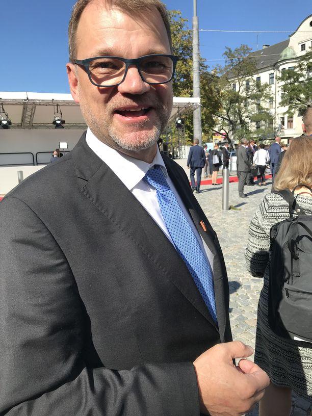 Suomen pääministeri Juha Sipilä on sitä mieltä, että EU pitää edelleen tiukasti brexit-neuvotteluissa kiinni EU:n sisämarkkinakokonaisuudesta