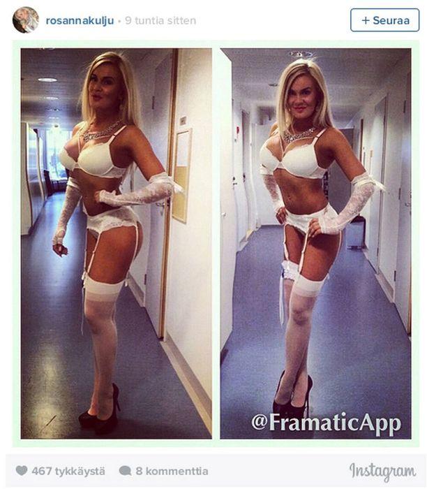 Tämän kuvan Miss Helsinki julkaisi keskiviikkona ja poisti.