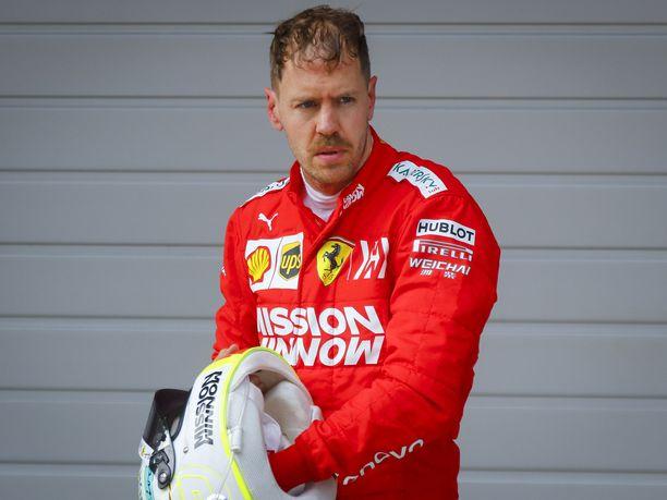 Sebastian Vettel myönsi yliarvioineensa oman vauhtipotentiaalinsa Kiinan GP:ssä.