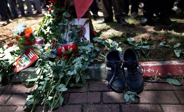 32 ihmistä sai surmansa maanantaina tapahtuneessa iskussa.