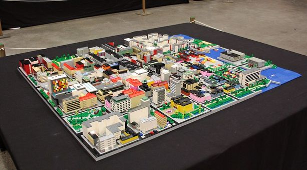 Lego-oulu tulee näyttelyyn museolle.