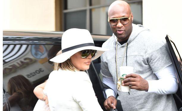 Khloe Kardashian ja Lamar Odom nähtiin yhdessä vielä viime pääsiäisenä.