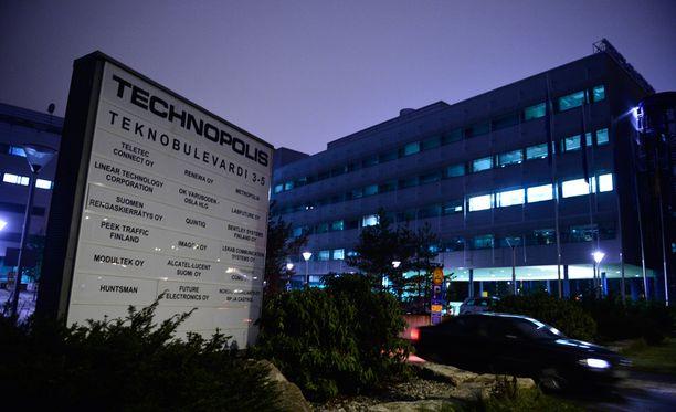 Trevocin konttori sijaitsi Vantaan Technopoliksessa.