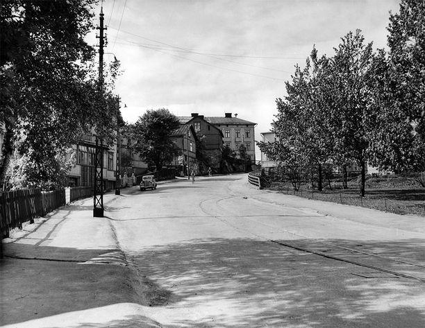 Puu-Pasilan raittia vuonna 1955.