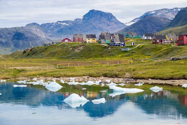 Kesällä Grönlannissakin vihertää.