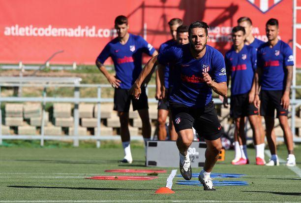 Atlético Madrid ei kertonut, ovatko koronaviruksen aiheuttaman taudin saaneet henkilöt pelaajia.