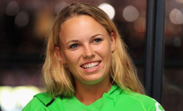 Caroline Wozniacki viihtyy New Yorkissa ja odottaa innolla US Openia.