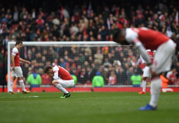 Arsenalin kausi on ollut pettymys.