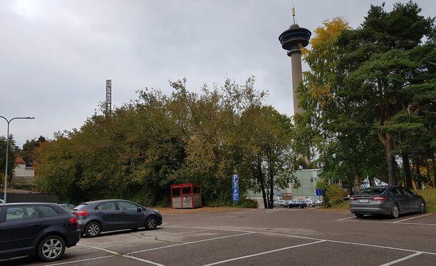 Pirkanmaan poliisin mukaan 2000-luvulla syntynyt mies on otettu kiinni Tampereen joukkotappelussa. Kuvassa tapahtumapaikka.