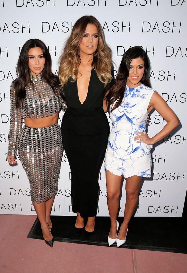 Kim, Khloe ja Kourtney Kardashian