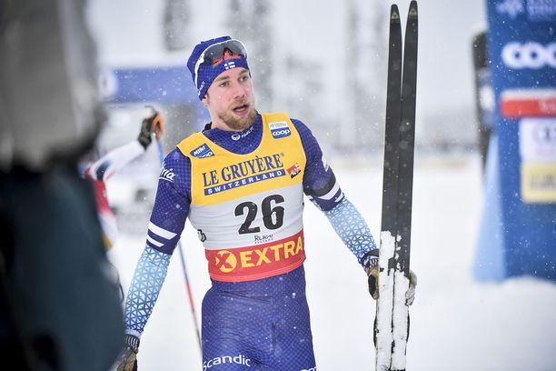 Joni Mäki oli yhdestoista maailmancupin avauksessa.