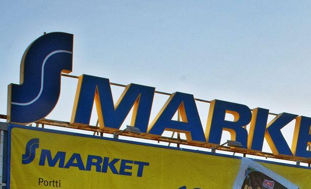 S-Marketiin murtauduttiin lauantaiyönä Hämeenlinnan Hätilässä. Kuvituskuva.