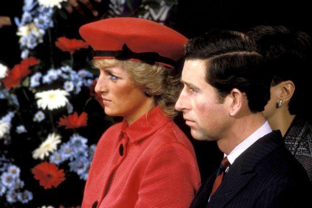 Prinsessa Dianan ja prinssi Charlesin liitto oli onneton.